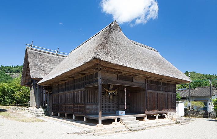 山田大王神社【山江村】|日本で最も豊かな隠れ里 日本遺産人吉球磨【熊本県】