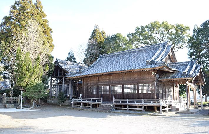 深田大王神社(深田阿蘇神社)|日本で最も豊かな隠れ里 日本遺産人吉球磨【熊本県】
